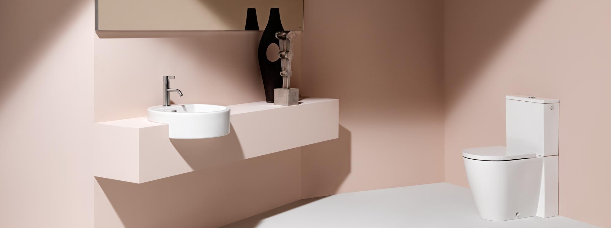 HOME | LAUFEN Bathrooms | Laufen Outline Flying Logo Design Bathroom on glass door design outline, interior design outline, kitchen design outline,